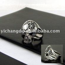 2012 steel Skull ring
