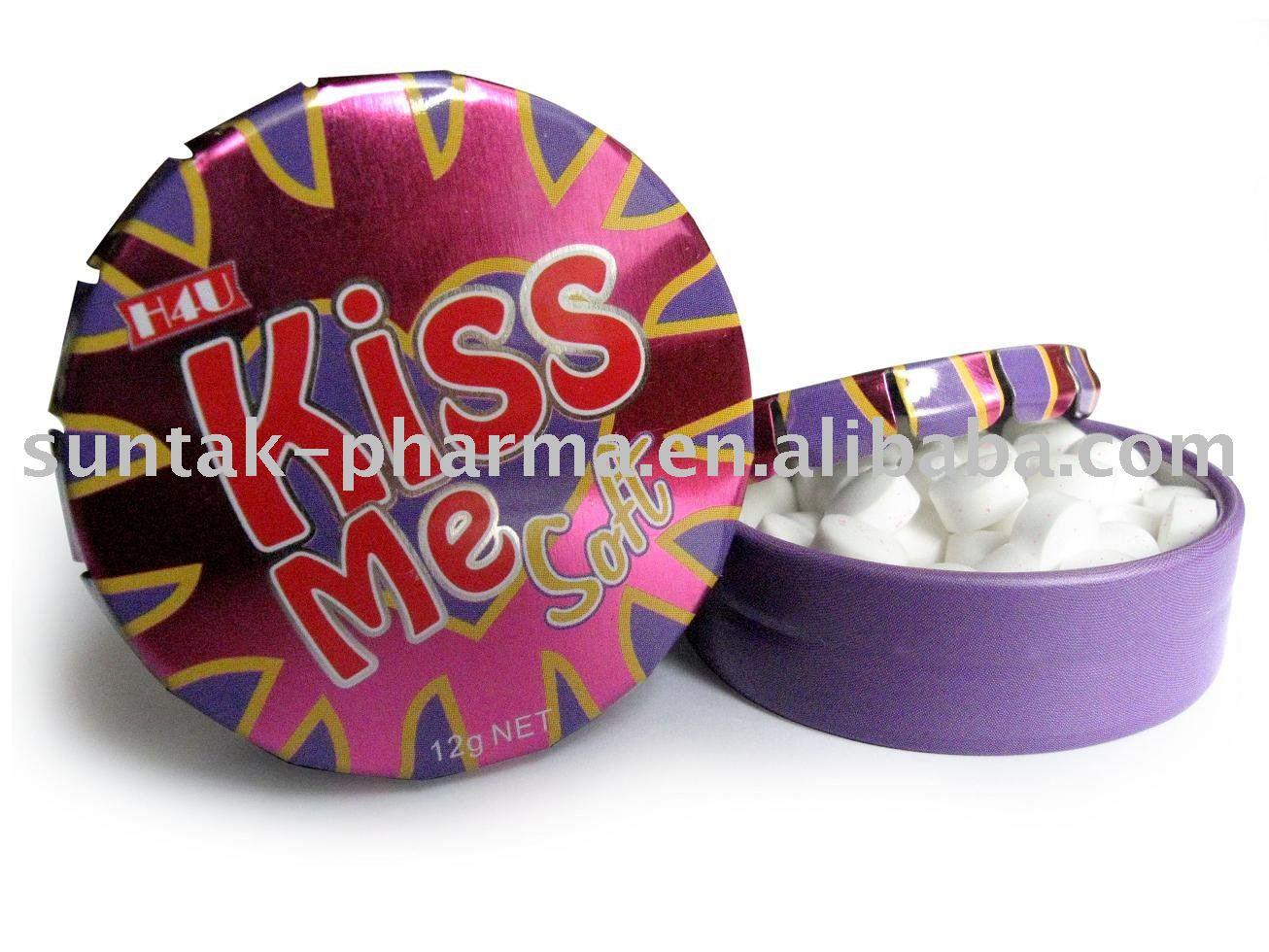 KISS Dextrose Mint Candy sweet
