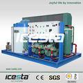 icesta refrigerado por aire fresco de agua portátil máquina de hielo en escamas de hielo de la máquina