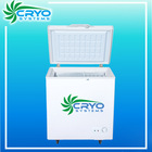 80L small mini commercial deep freezer chest freezer