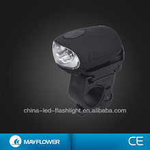 3 LED Plastic bicycle dynamo light as bicycle head light
