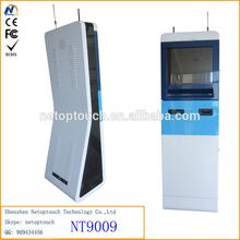 Netoptouch shopping mall advertising touch screen kiosk