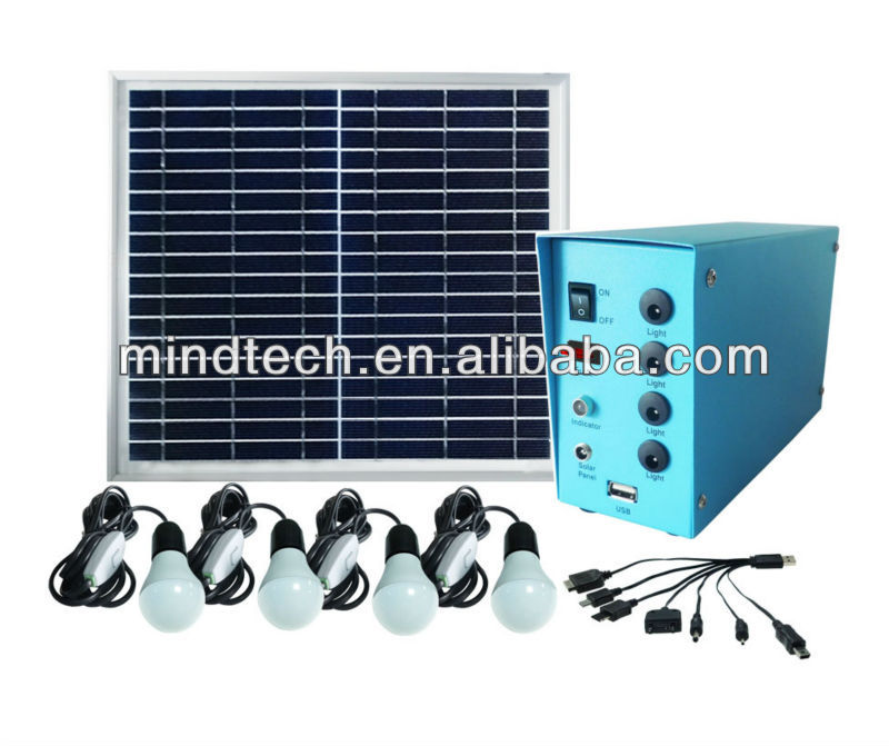 high quality solar led light /solar electricity generating system for home hot sale in kenya