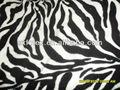 تصميم جلد النمر النمر أو بطانية الصوف البوليستر