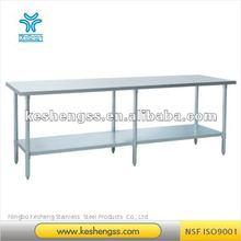 stainless steel work table/stainless steel worktable