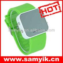 0118# unisex odm fashion silicone digital led watch