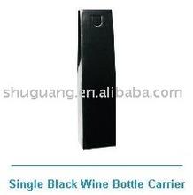gift bag black wine bottle bag