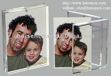 Adorable plastic photo frame with magnets