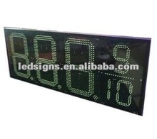 new function 16inch 8889/10 LED fuel price display easy operate by RF remote