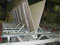 China gesso/placa de gipsita linha de produção com capacidade diferente