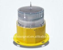 Solar powered LED aviation obstruction lighting/solar tower beacon signal