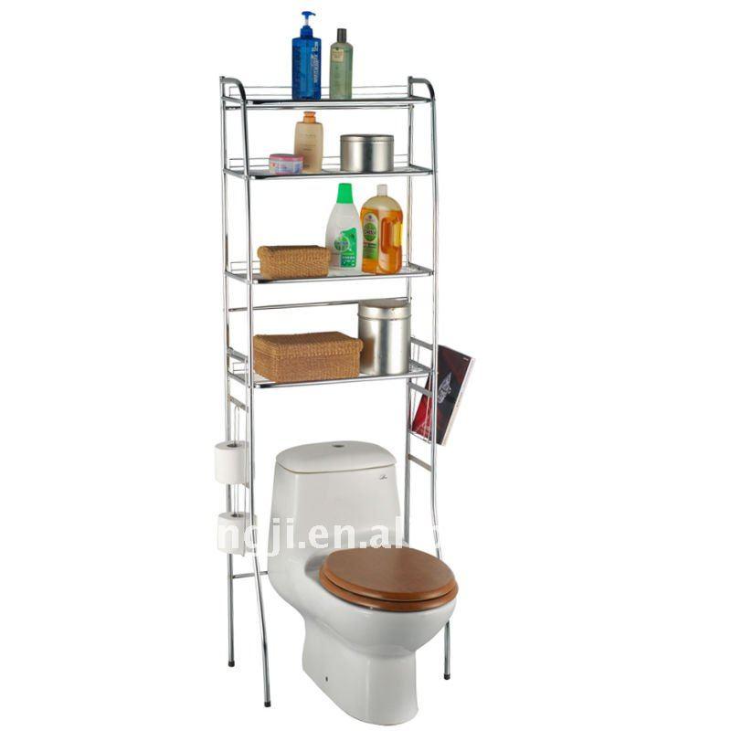Kd 9075 hierro plataforma de ba o estanter as y estantes for Estante porta toallas para bano