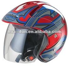 Huadun high quality open face motorcycle helmet,HD-50K