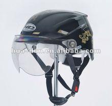 Huadun Half Face Motorcycle Helmet, ABS motorbike helmet, HD-330