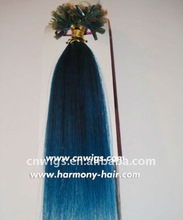 2014 NEW blue hair extensions