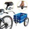 Utility Bike Cargo Trailer With Foldable Box