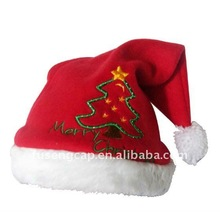 Promotional red christmas hats