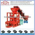 De ladrillo y el bloque que hace la máquina, de ladrillo rojo de la línea de producción