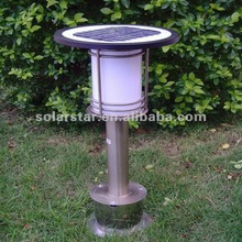 High Quality Stainless Steel Outdoor LED Solar Lamp for Lawn and Garden