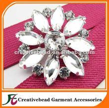 Rhinestone Button Embellishment Crystal Wedding Brooch Bouquet Wedding Invitation Cake Decoration