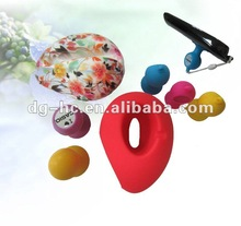 good suction desk phone accessory silicone phone stand