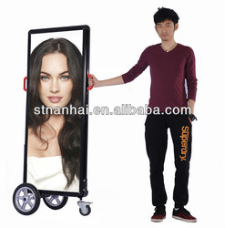 J2B-345 human billboard,led digital signage,led crystal frame,led display signage,led display frame,advertising board