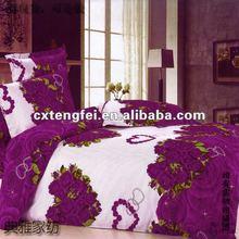 100% polyester printed fleece fabric for wedding