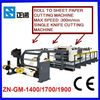 Sheet Cutter / Roll to Sheet Paper Cutting Machine (CM1400/1700/1900)
