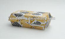 long snack paper box/hamburger boxes/Hot dog box