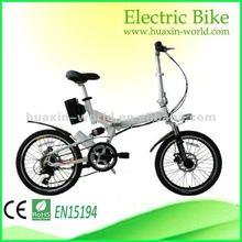 20'' shock absorbing electric pocket bike