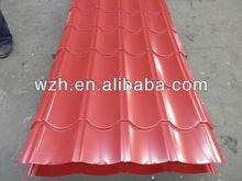metal iron roofing tile/corrugated steel roofing sheet/ppgi steel sheet