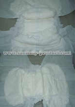 Disposable Adult Daily Diaper With Breathable Back Sheet