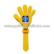 Zujubelndes Plastikscharnierventil der Art und Weise Hand