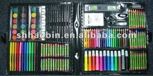 pvc case watercolor paint art set