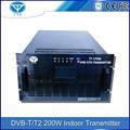 Uhf 200w/vhf al aire libre de tv digital dvb-t transmisor