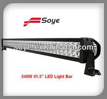 """40"""" 240w Flood/Spot/Combo Alloy 4wd UTE led 4WD UTE led light bars"""