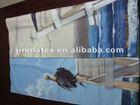 new design promotional Sublimation Transfer print high quality microfiber beach towel