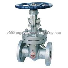 ANSI Cast Steel Flanged cast steel Gate Valve, 3 inch class 300 wcb gate valve