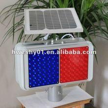 New Design Red Blue LED Flashing Solar Light