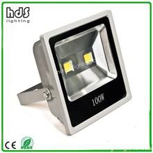 2PCS COB Ultra Slim LED Floodlight 100W LED Flood light Outdoor IP65 AC85-265V CE PF>0.95