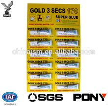 Super Strong Quick dry super glue in Card 3g/per , Bonding Glue