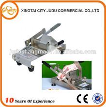 hand operated beef slicing machine