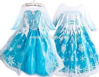 TOP new frozen Elsa dress wholesale dress for kids princess dress BC309