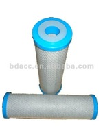 10 inches coconut shell charcoal activated carbon water filter cartridge
