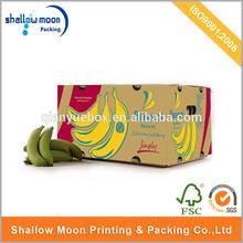 Factory sales carton fruit box for banana and apple/banana carton boxes, banana box