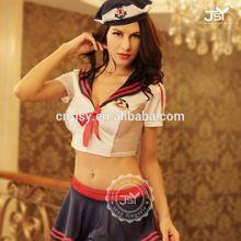 Traje de marinero para los niños barato sexy marinero traje de la muchacha