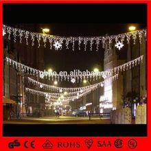 OB-SL christmas street decoration commercial skylines lights ip44 christmas street motif skylines decoration