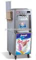 Mercado da ceia comercial soft ice creme que faz a máquina