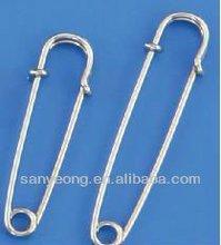 steel kilt pin / brooch safety pin / nickel plated steel kilt pin