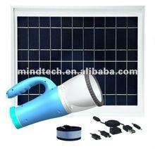 8w solar mining light/ portable led light solar light /rechargeable led solar camping light charged by sunlight